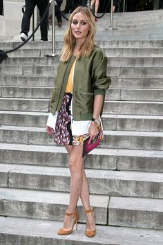Olivia Palermo attends the Giambattista Valli Haute Couture Fall/Winter 2016-2017 show as part of Paris Fashion Week on July 4, 2016 in Paris, France.