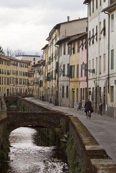Via del Fosso, Lucca, Tuscany, Italy