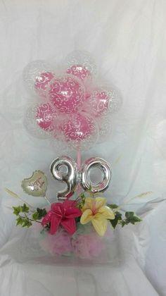 Palloncini balloons centro tavola compleanno amore festa Www.consegnapalloncini.it