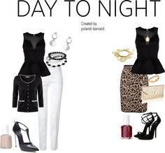 """Sophisticated Style Day & Night"" by yolandi-barnard on Polyvore"