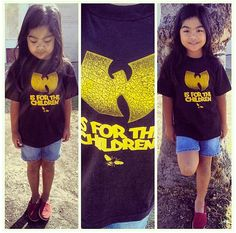 Wutang is for the children kids TShirt wutang by dizasteroyale, $13.50