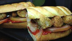 Sandwich de #Merluza Rebozada #gastronomia #sandwishare #food #art #design sandwishare.com