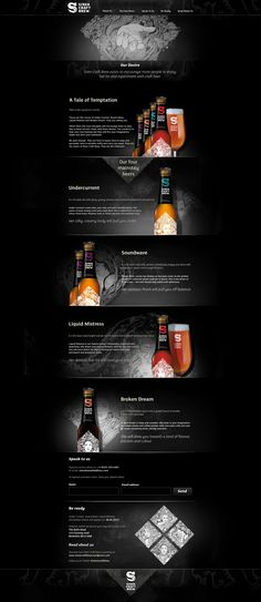 Siren Craft Brew Pre-Launch Responsive Website designed and built by Voyage www… Craft Beer Gifts, Craft Beer Labels, Craft Beer Wedding, Craft Bier, Beer Quotes, Beer Company, Beer Packaging, Site Internet, Site Web