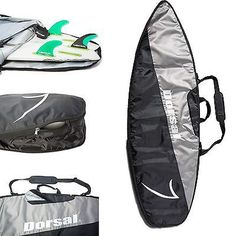 Board Bags and Socks 71165: Dorsal Project Stormchaser Travel Shortboard Surfboard Travel Board Bag - 68 / BUY IT NOW ONLY: $53.95