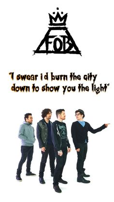 sophomore slump or comeback of the year fall out boy fob halloween lockscreen made by maddy4015