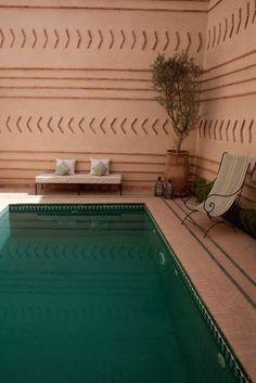poolside morocco