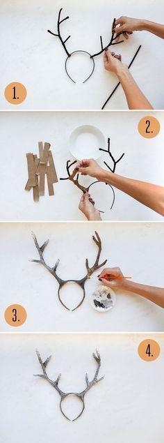 DIY Deer Costume | LaurenConrad.com:                                                                                                                                                                                 More