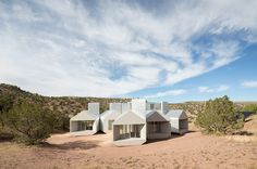 Element House | Architect Magazine | MOS Architects, Star Axis, New Mexico, Single Family, Cultural, Hospitality, Institutional, Modern, Cultural Projects, Institutional Projects, Hospitality Projects, Michael Meredith, Hilary Sample, Cynthia Madden Leitner, Museum of Outdoor Arts