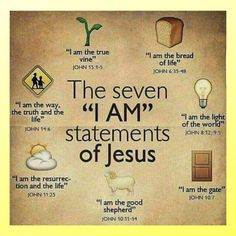 Quotes Discover Bible references for the seven & Am& statements of Jesus Christ. The Words Words Of Jesus Story Of Jesus Names Of Jesus Bible Scriptures Bible Quotes Jesus Bible I Love Jesus Catholic Bible Verses Psalm 118, The Words, Jesus Quotes, Bible Quotes, Wisdom Quotes, Quotes Quotes, Party Mottos, True Vine, I Am Statements