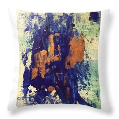 Abstract Throw Pillow for Sale by Agota Horvath