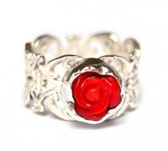 Red Rose #Ring #Jewelry