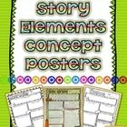 Story+Elements+Concept+Posters  +++++Students+can+use+these+posters+to+demonstrate+their+understanding+of+the+different+story+elements:+ -+plot+ -+...
