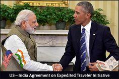 US – India Agreement on Expedited Traveler Initiative