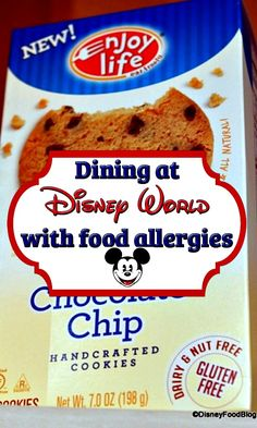 Tips for dining @ Disney World with food allergies and intolerances