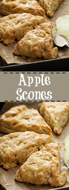 Apple Scone Recipe - The Kitchen Magpie