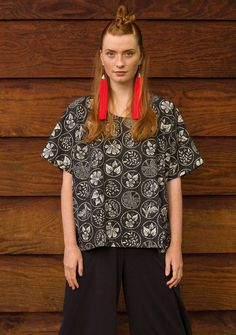 Swedish Clothing - Scandinavian Designer | Gudrun Sjödén Marketing Direct, Colourful Outfits, Recycled Fabric, Scandinavian Design, Boho Chic, Clothes For Women, Blouse, Collection, Style