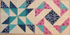 Pinwheel Sampler Quilt Block 18 - May 2010 by Happy 2 Sew, via Flickr