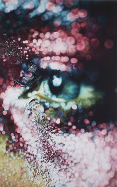 Painting by Marilyn Minter. Unreal! Love Marilyn Minter!! This is beautiful! Cropping, composition, depth of field...