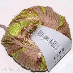 Ella Limone-Hellbraun von Lang Yarns Crochet Stitches, Knit Crochet, Lang Yarns, Darning, Clothing Patterns, Weaving, Juni, Knitting, Loom