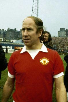 Bobby Charlton Manchester United 1973