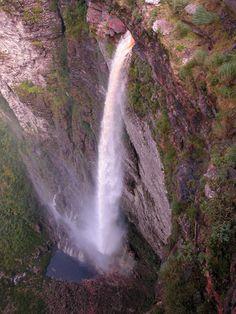 Chapada Diamantina - Cachoeira da fumaça