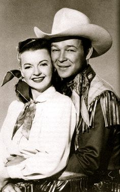 Roy and Dale ... Saturday afternoon heroes You brought a lot of joy to us. Happy Trails!
