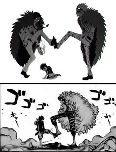 , One Piece - Corazon vs Donquixote Doflamingo, Trafalgar D. Luffy vs Donquixote Doflamingo, Trafalgar D. Manga Anime, Film Manga, Fanarts Anime, All Anime, Anime Art, One Piece Anime, One Piece Comic, One Piece Fanart, One Piece Images