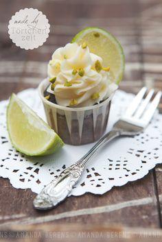 Limette- Pistazien Cupcake   Lime- Pistachio Cupcake