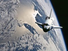 Earth, Space Future, Orbit, Life in Space, space shuttle