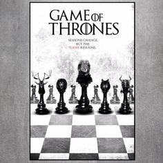 Game Of Thrones Canvas Art Print //Price: $9.99 & FREE Shipping //     #gameofthronesfanart