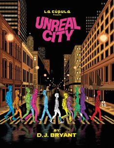 Unreal City #comics #graphicnovel