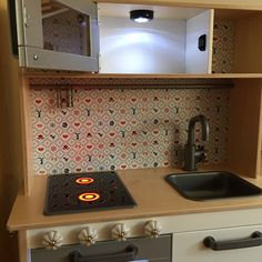 Ikea … kitchen… for Linda … from Love