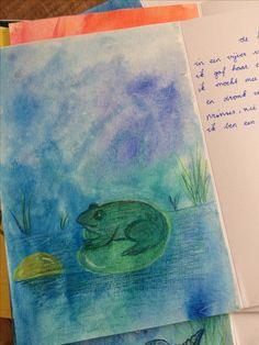 De kikkerkoning Vs, Turtle Painting, Painting & Drawing, Curriculum, Material, Boards, Letters, Journal, Drawings