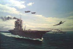 "USS Lexington CV2 ""Lady Lex"" by Marii Chernev Hms Hood, Us Navy Aircraft, Navy Aircraft Carrier, Uss Lexington, Heavy Cruiser, Us Navy Ships, Naval History, Armada, Aviation Art"