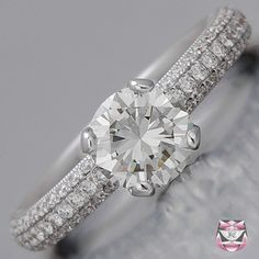 Art Deco Engagement Ring EGL Certified