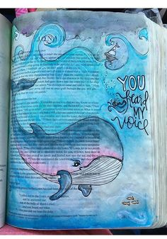 Jonah bible journaling