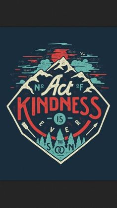 No act of kindness is ever to soon
