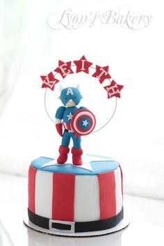 Captain American Cake