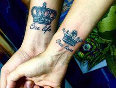 Tatouage amour éternel – jusqu'à l'infini et au-delà