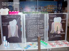 Información #Dental. Escaparate Farmacia DiSalud promueve la Salud Dental y Bucal *Más info: www.facebook.com/... ; twitter.com/disalud ; disalud.tumblr.com/
