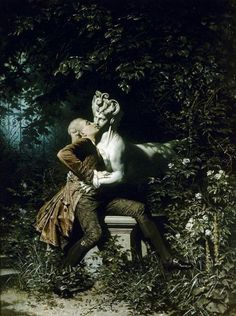 Heinrich Lossow, The enchantress, 1868