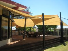 I want these shade sails
