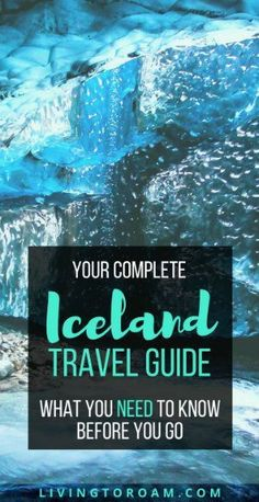 Iceland Travel Guide | visit Living to Roam... for the best tips on how to see the Northern Lights, a 1 week itinerary and why Iceland is the Beyonce of countries. Travel in Europe.