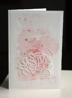 Blütenstempel: Aquarell