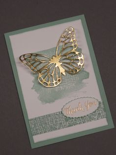 Lesley's Stampin Ground : Butterfly Thinlits