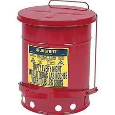 hazardous waste can - trash can
