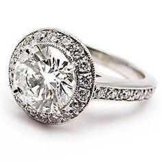 1.5 Carat Engagement Ring Diamond Circle 5