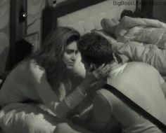 Bigg boss 8 Karishma tanna  Upen Patel Kissing scene images hd video pictures written update