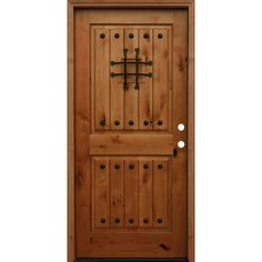 Main Door Rustic Mahogany Type Prefinished Distressed V-Groove Solid ...
