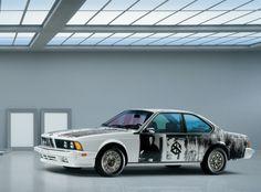 Rauschenberg Robert Art Car | BMW Auto Art - Robert Rauschenberg - BMW 635 CSi